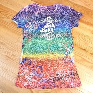 Kavio Jelly Belly Multicolored T-Shirt- XL